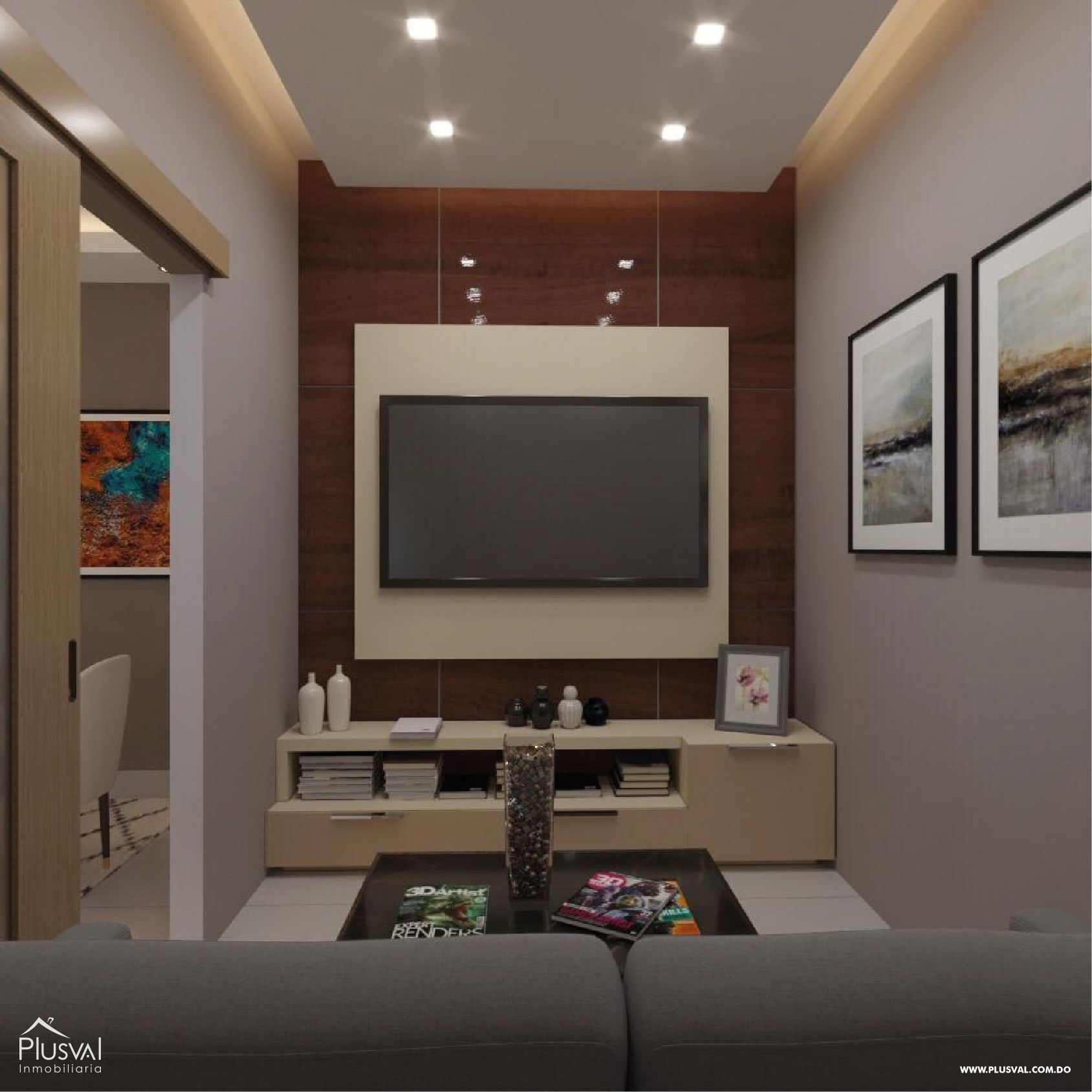Proyecto de apartamentos en venta el Millon 150598