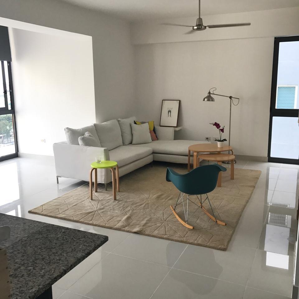 Apartamento en alquiler amueblado, Evaristo Morales 151400