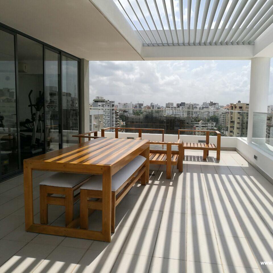 Apartamento en alquiler amueblado, Evaristo Morales 151405