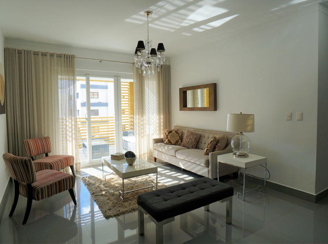Apartamento amueblado en alquiler , Evaristo Morales