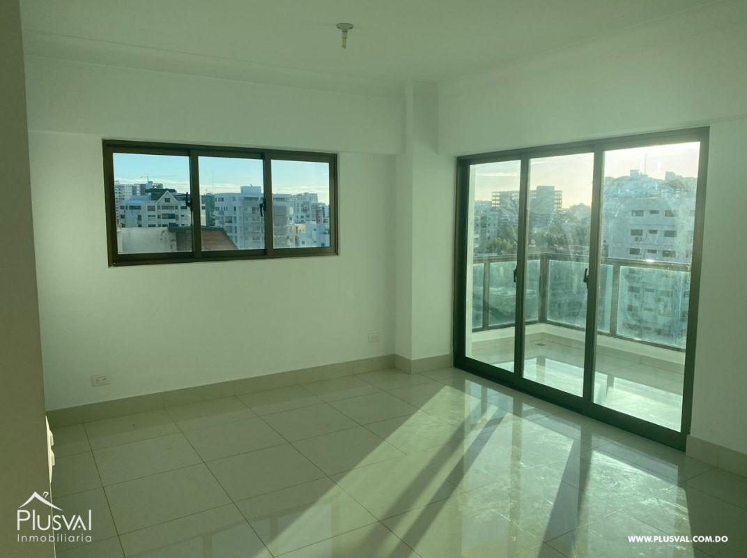 Apartamento en alquiler con linea blanca en Evaristo Morales