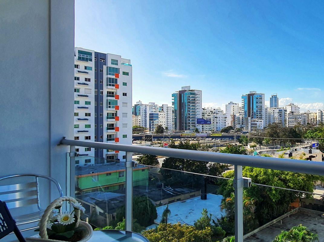 Apartamento amueblado de 1 habitación, 6to piso El Vergel