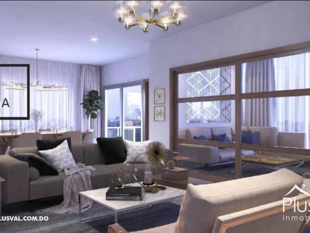 Torre de apartamentos en Naco 169403