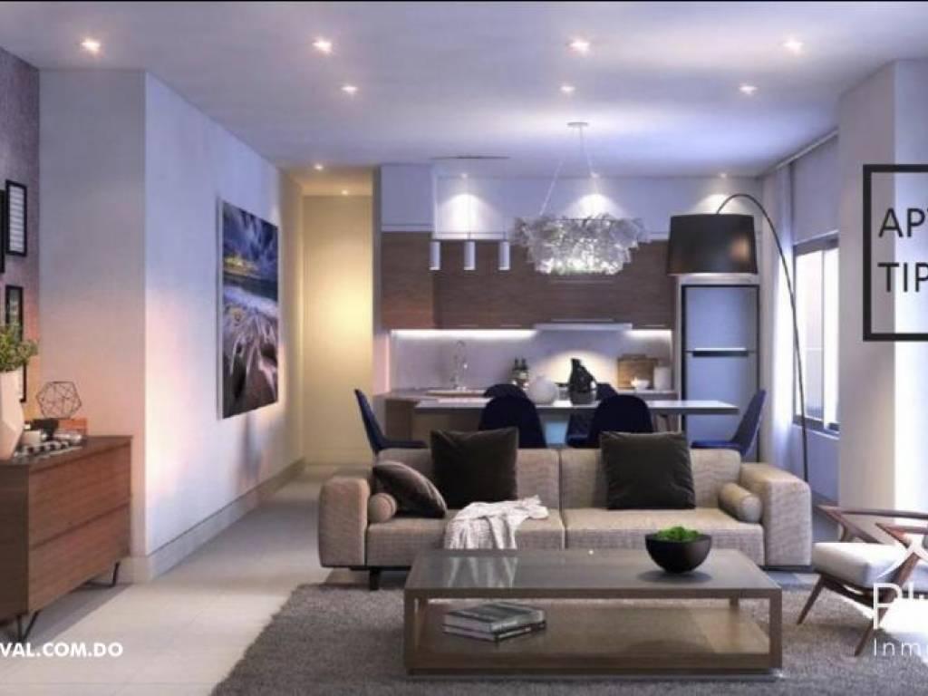 Torre de apartamentos en Naco 169404