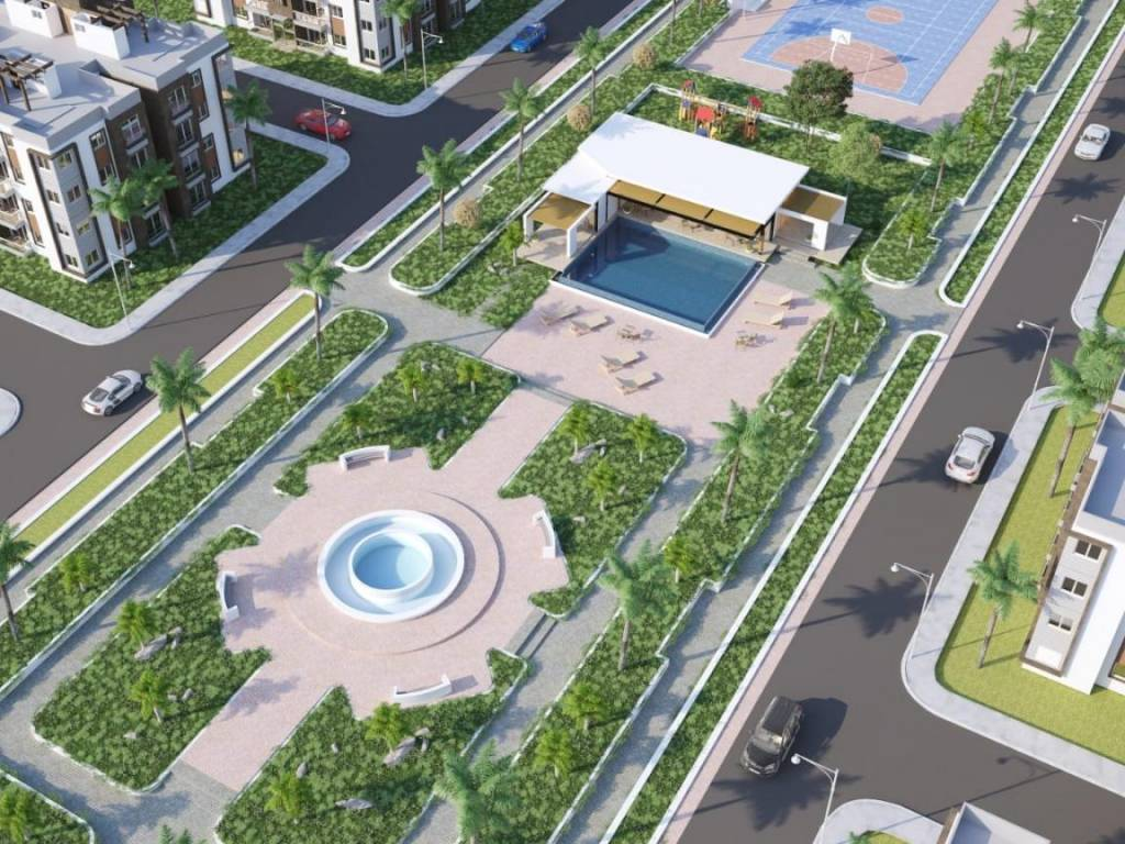 Apartamento en Aut. San Isidro con piscina - Area social en venta 150629