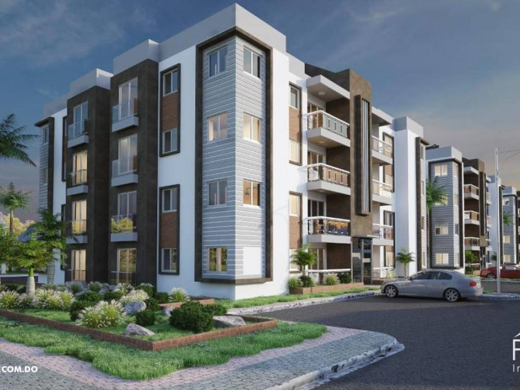 Apartamento en Aut. San Isidro con piscina - Area social en venta 150628