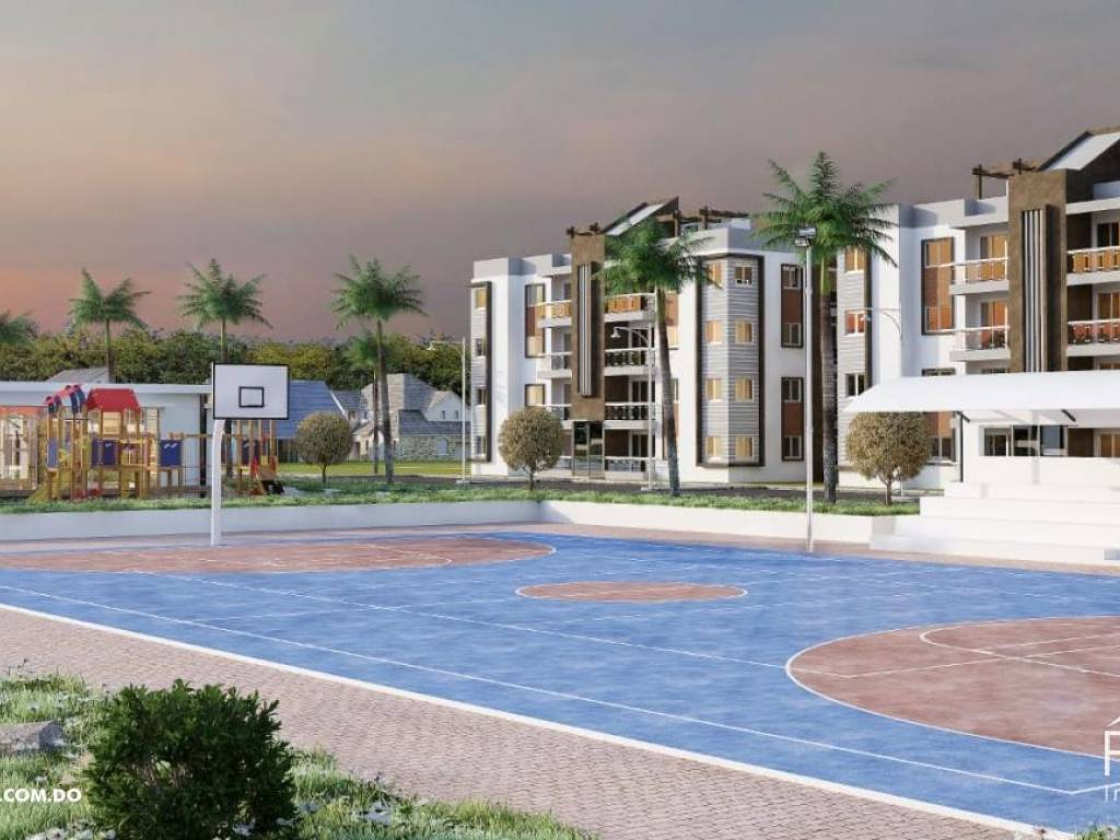 Apartamento en Aut. San Isidro con piscina - Area social en venta 150626