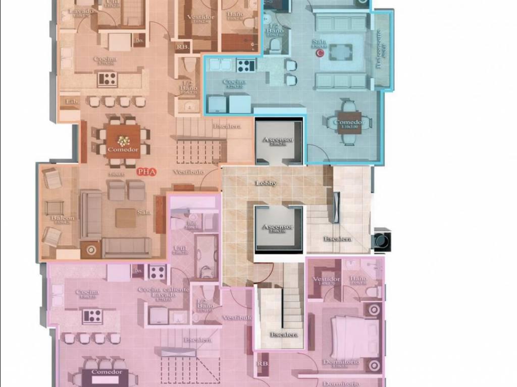 Apartamento en venta, Naco 170749