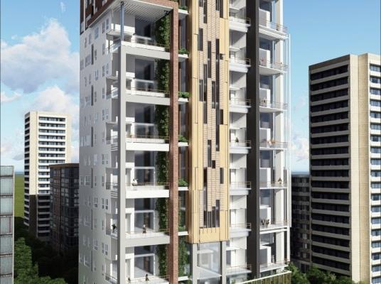 Unico proyecto con apartamentos de 2 niveles y terraza en Piantini