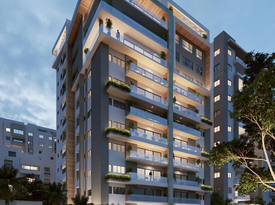 Proyecto de apartamentos en venta, Serralles