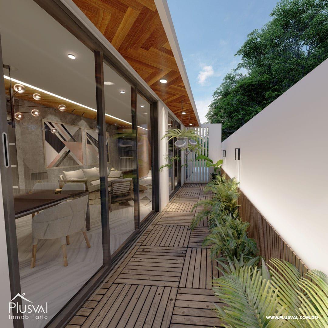 Exclusivas y modernas casas de 2 niveles en Arroyo Hondo III. 167191
