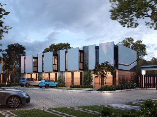 Casas con diseño único. Modernas