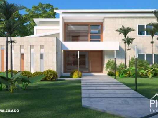 Lujosa casa en privilegiado residencial en Hacienda Golf  (Punta Cana)