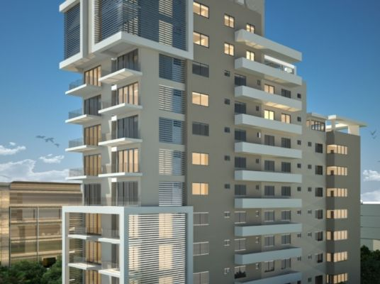 Torre residencial, Naco