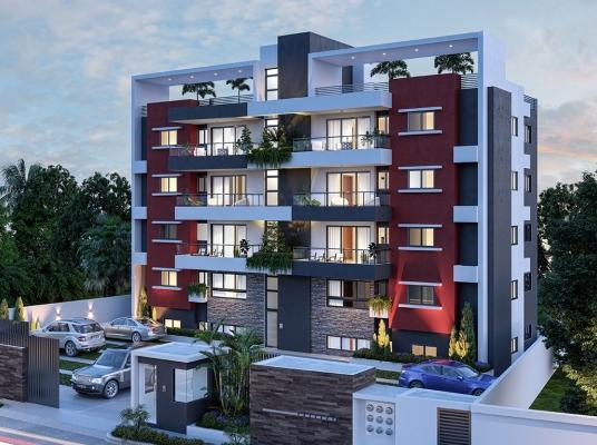 Proyecto de apartamentos en zona residencial