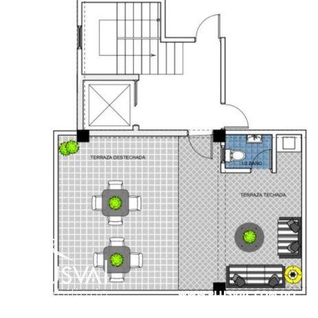 Proyecto de apartamentos de 1 y 2 Hab. con Ascensor en Renacimiento 165127