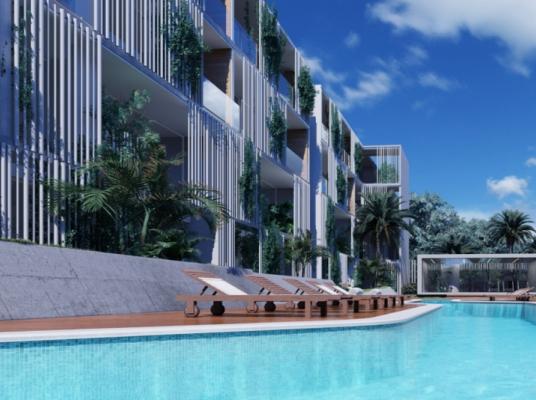 Apartamento habitacional tipo suite de hotelera