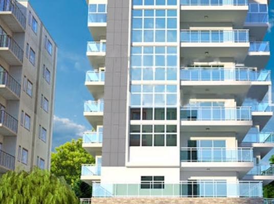 Moderna torre en Renacimiento con apartamentos de 2 y 3 habitaciones con buenas terminaciones y amplios espacios.