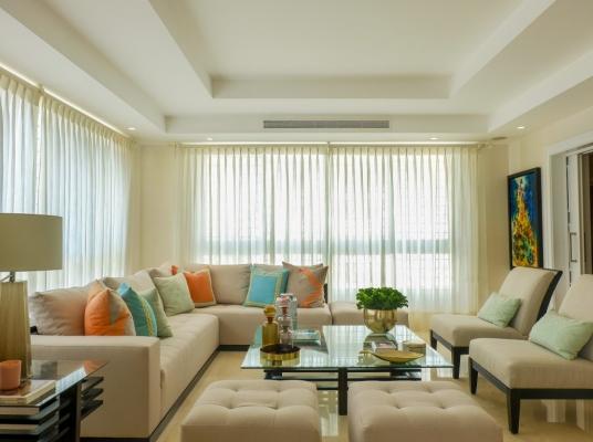 Apartamento en Alquiler Amueblado. Uno por piso.