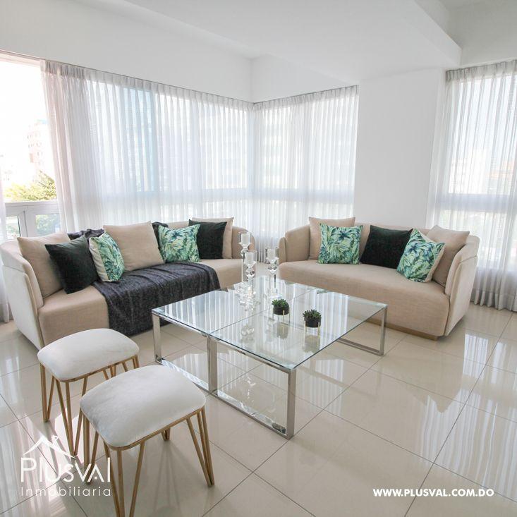 Amplio apartamento en alquiler en Naco