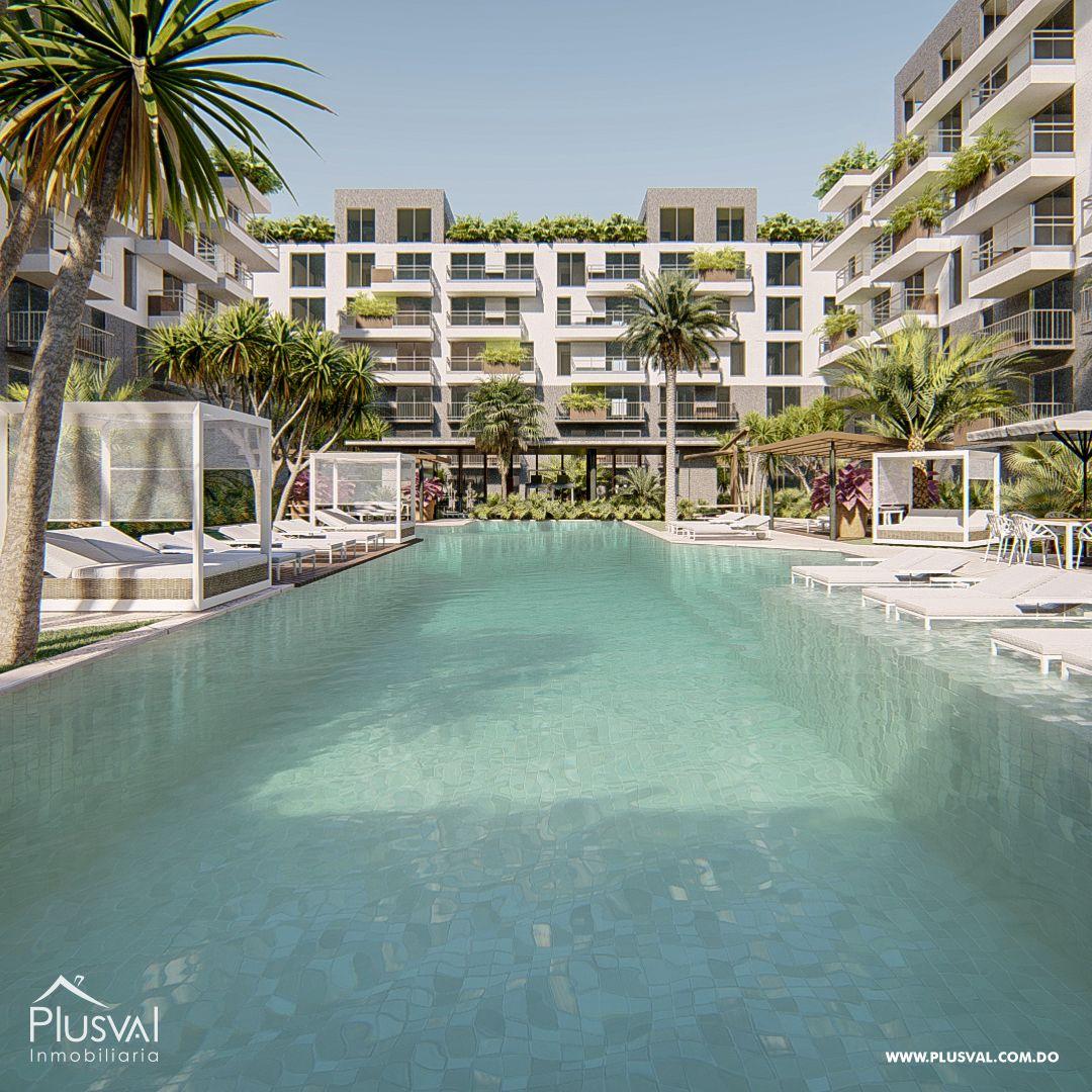 Apartamentos de 1,2 y 3 habitaciones en venta, en Punta Cana.