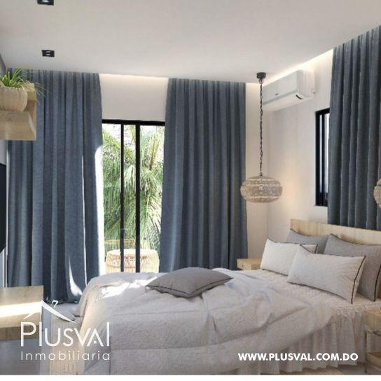 Apartamento de 2 habs en venta con Piscina, en Punta Cana 173017