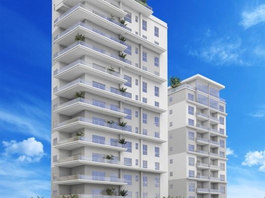 Modernas torres en  construcción Naco Venta