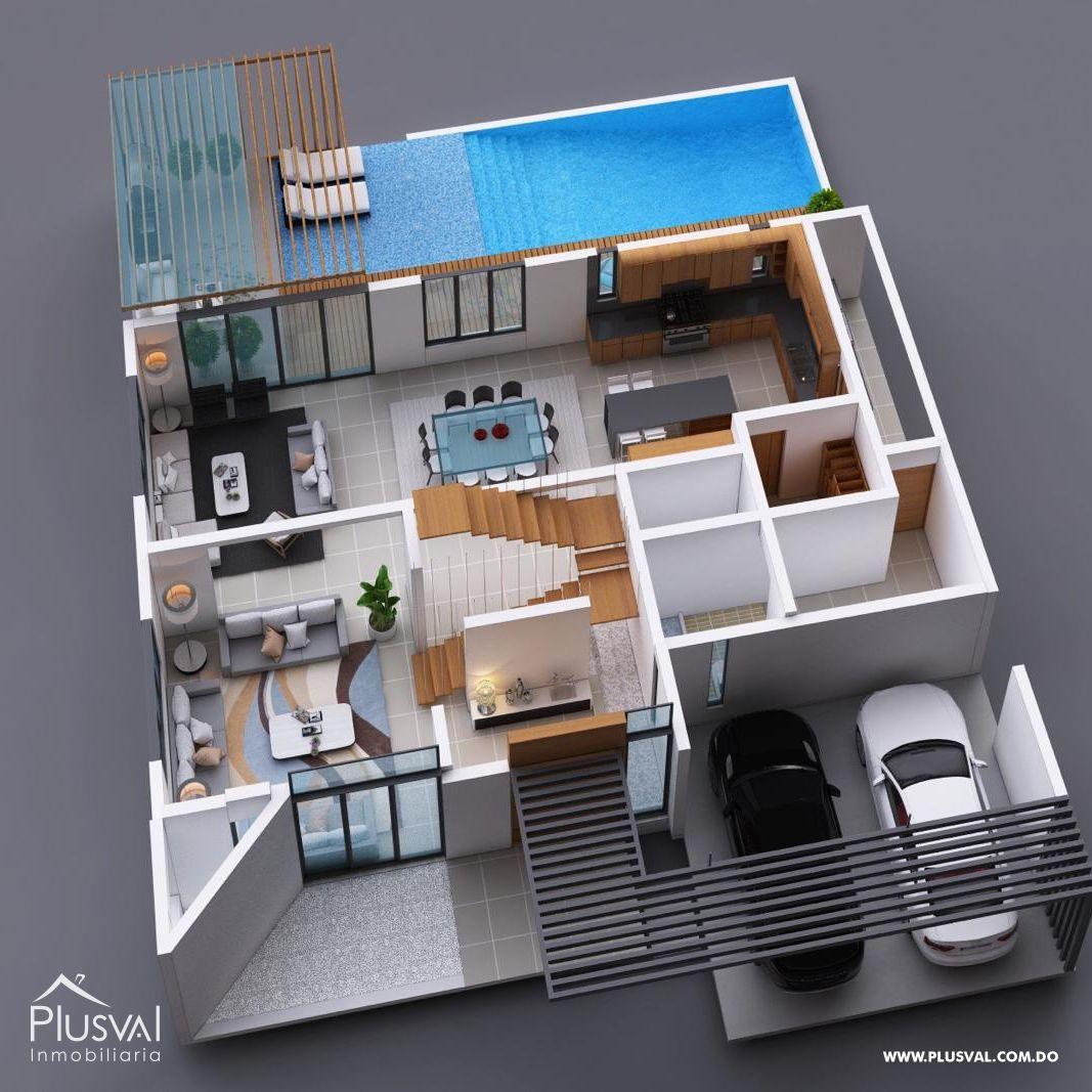 Impresionante Residencia Privada en Proyecto Cerrado 152119