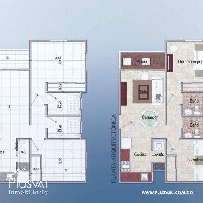 Apartamentos cerca de la Ave. Jacobo Majluta en Santo Domingo Norte 156490