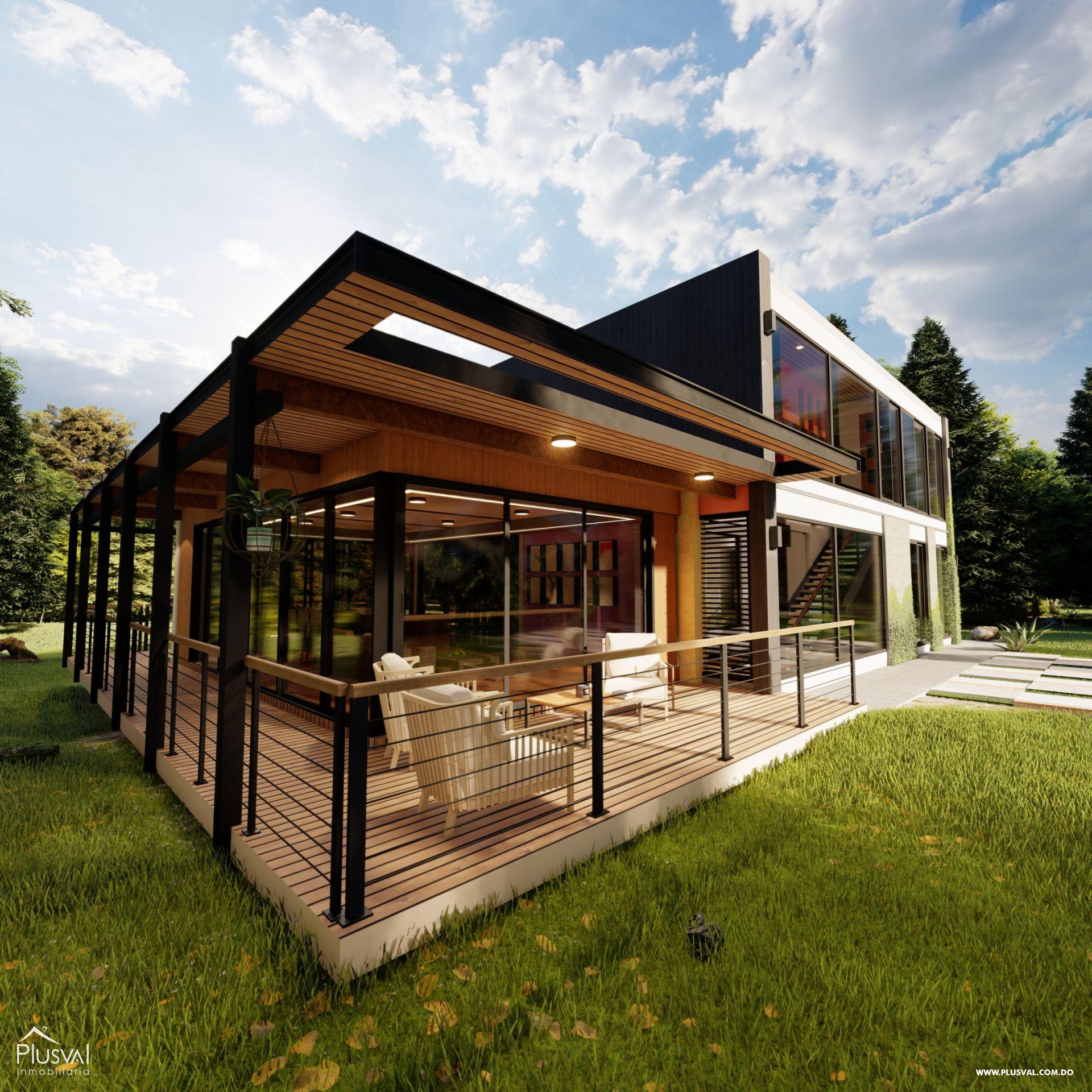 Villas en Jarabacoa con excelente diseño e inmejorable ubicación 159139