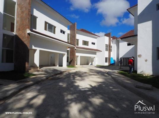 Casas nuevas en residencial cerrado, alquiler. Cuesta Hermosa II