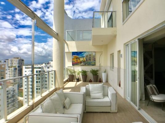 Espectacular Penthouse en venta en Piantini