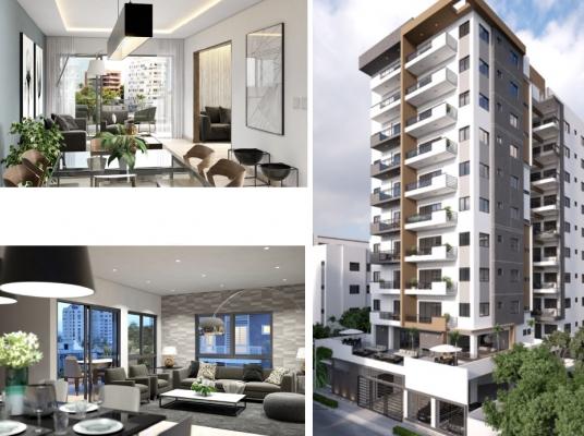 Proyecto de apartamentos en venta, Evaristo Morales