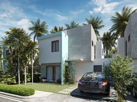 Complejo de casas unifamiliares