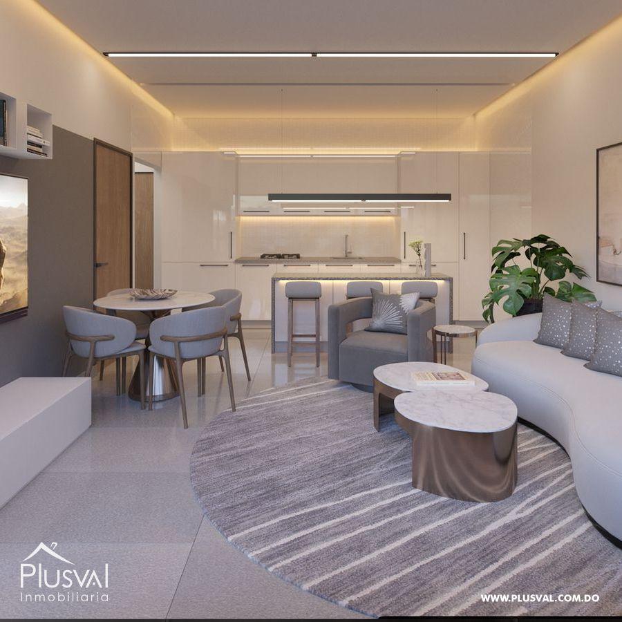 Moderno proyecto de apartamentos de 1 y 2 hab. en Naco 183196
