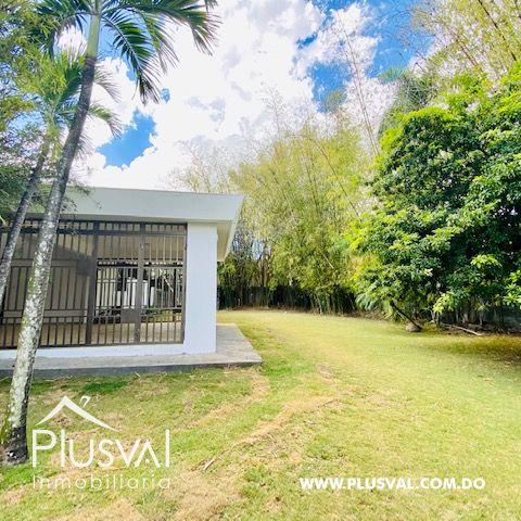 Hermosa casa en alquiler en zona residencial y exclusiva en Los Rios Arroyo Hondo 169704