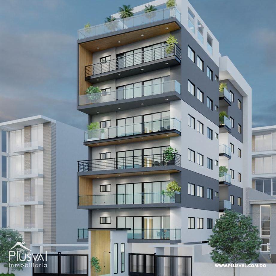 Proyecto Residencial con apartamentos de 2 y 3 habitaciones