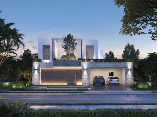 Villa con espectaculares patios interiores