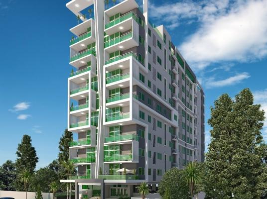 Moderna torre en bella Vista con apartamentos de 1 y 2 habitaciones ideal para inversion.