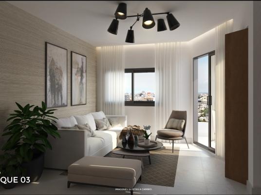 Moderno proyecto de apartamentos en venta en Evaristo Morales