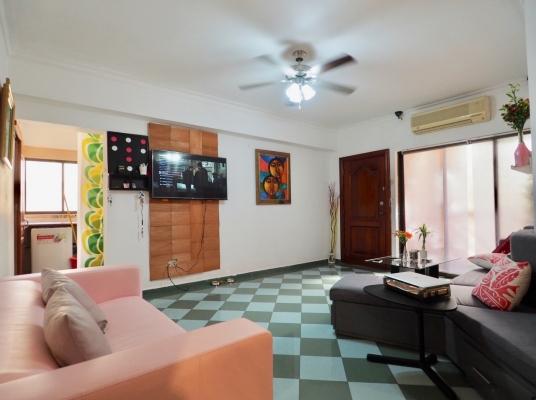 Apartamento en alquiler amueblado, Gazcue