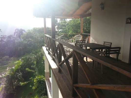 Hermosa Villa en las altas montañas de San Cristobal