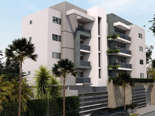 Apartamentos de 2 y 3 habitaciones en construcción