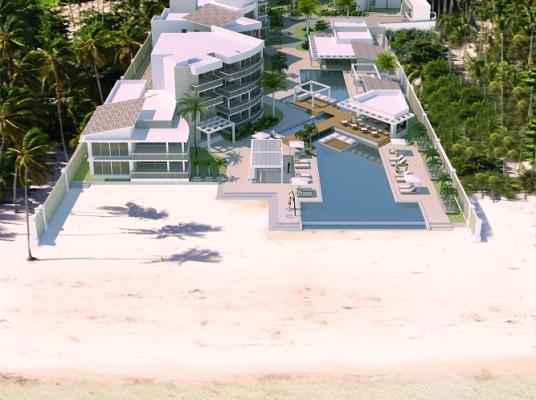Apartamentos En primera linea de Playa, ubicado directamente en la Playa Coral, Bavaro.