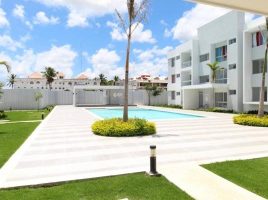 Apartamentos con acceso a playa privada, en White Sands