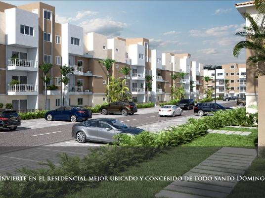 Proyecto de apartamentos de 3 habitaciones