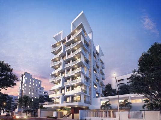 El nuevo concepto demodernidad y lujoen una sola torre en La Julia.