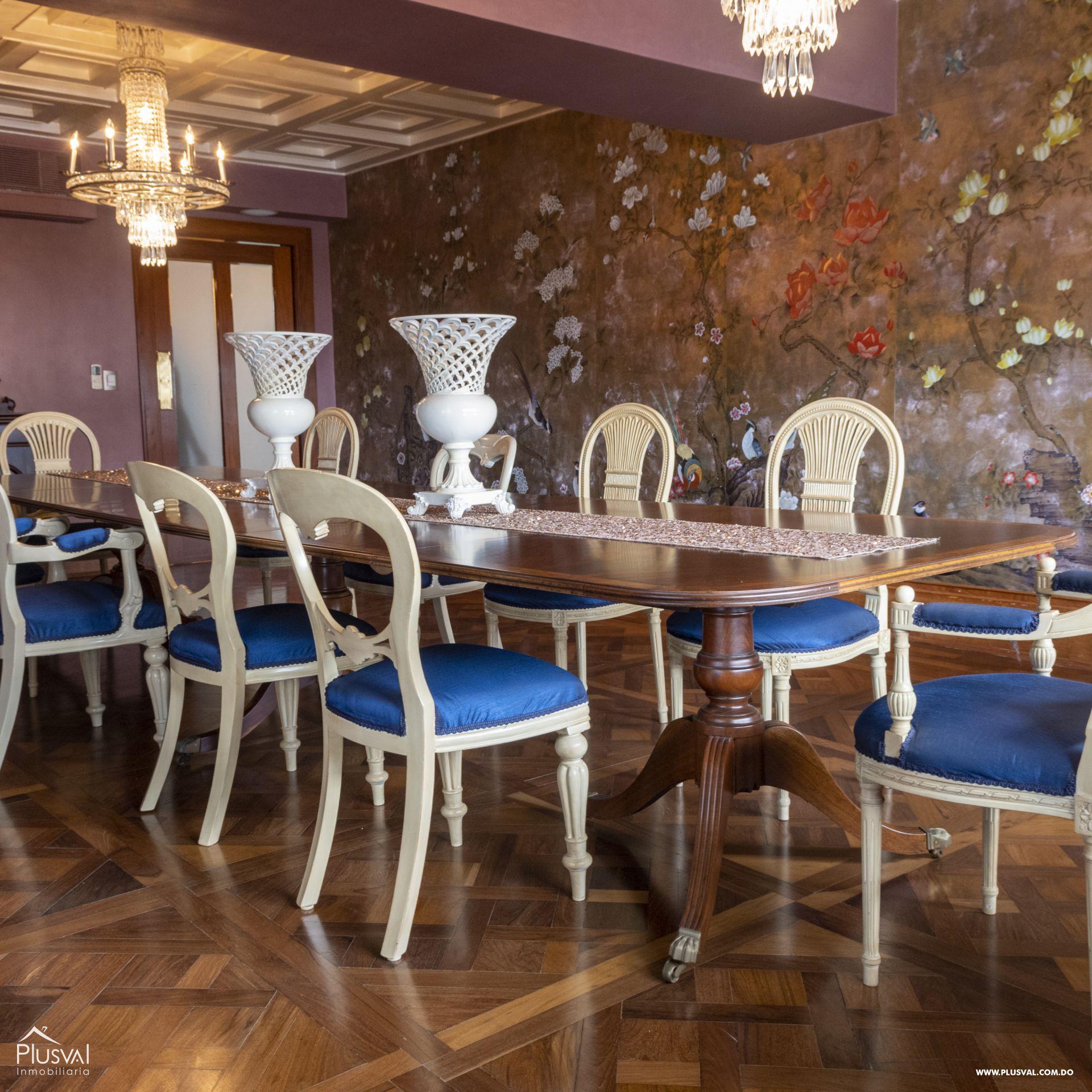 Penthouse en Venta en Naco con 8 parqueos 155359