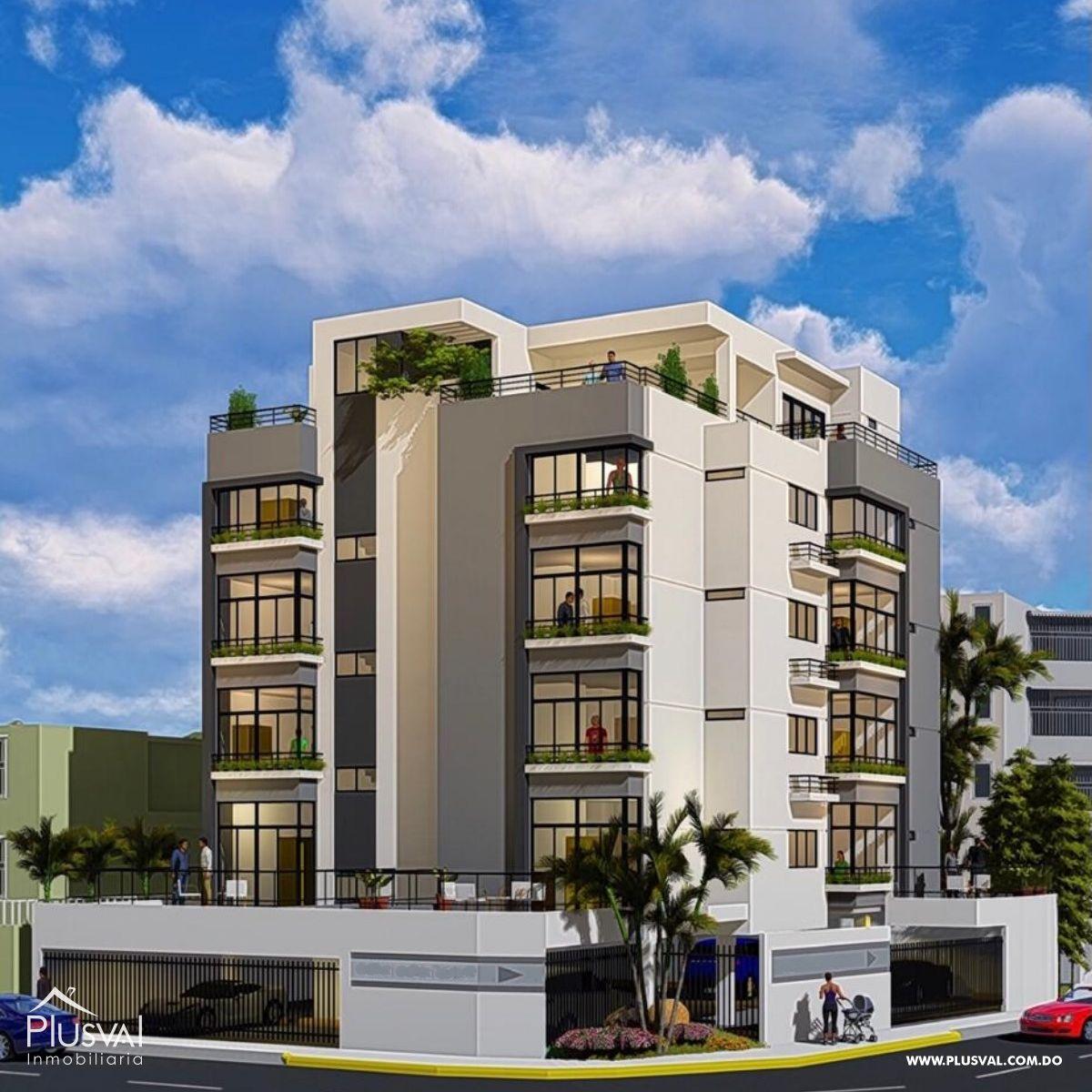 Proyecto de apartamentos de 1 y 2 Hab. con Ascensor en Renacimiento
