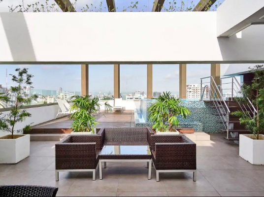 Moderno apartamento de 1 habitación en Naco